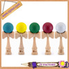 2014 new wooden kendama game for children new hot japanese toys natural kendama