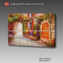 Beautiful Landscape oil painting mediterranean canvas wall art