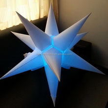 Good quality hot sale inflatable star for christmas