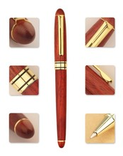 Cheap wooden ball pen