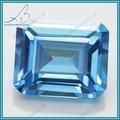 venta al por mayor cz corte esmeralda diamante snythetic precio por quilate