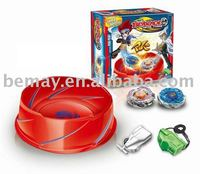 2011 HOT SELLING!BEYBLADE BATTLE TOP SET WITH THE ARENA,SPINNING TOP SET,12pcs/lot.SHIPPING 50% OFF!