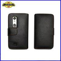 Wallet Leather flip Case for LG optimus 3D P920