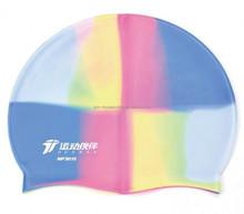 2015 colorful original printing silicone swim cap