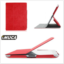 IMUCA Vintage Suede Leather Case For Apple ipad 4