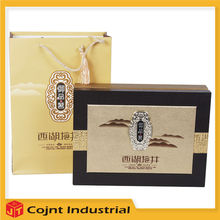 low cost made in china design art paper tea case china