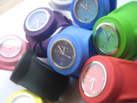 2014 fashion new cool popular custom iceing watches silicone watch
