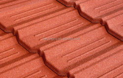 Top grade best sell sand coated galvanized metal roof tile