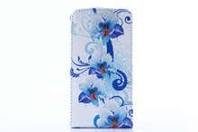 New Arrival Flower Flip Leather Case For Samsung Galaxy S2 i9100