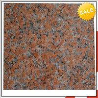 Beautiful Cheap Maple Red Imitation Granite