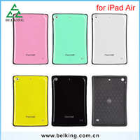 Newest Small Waist Tablet Plastic Case For iPad Air Iface Hard Candy Colors Case