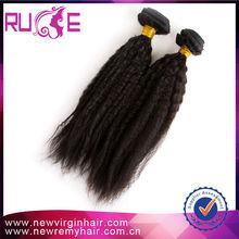 2015 Hot Sale cheap price high quality raw human virgin yaki hair extentions