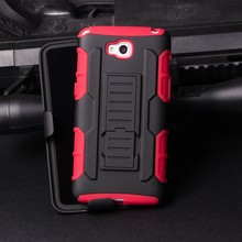 Belt Clip Shockproof Drop Proof Heavy Duty Shell Holster 3 in 1 Combo Case for lg pro lite d680 Dual Layer Full-body Rugged H