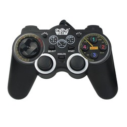 Free Shipping Welcom WE-851S WIN7/WIN8 Computer Double Rocker Double Shock Wired Game Controller