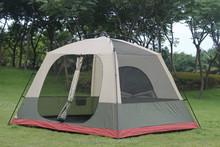 Family camping big tent,outdoor instant cabin tent,waterproof leisure pop up tent