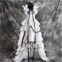 High Quality Chobits Eruda White Cosplay Costume Sexy Dress Anime cosplay Costumes Lolita Dress uniforms Halloween Costumes