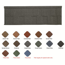classical color glazed metallic steel roof tile/aluminum roofing