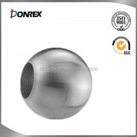 Railing Stainless steel ball end cap for 10-14mm bar or pipe