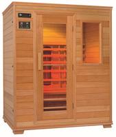outdoor sauna /sauna equipment/red /hemlock/spruce sauna room for 4 persons