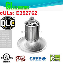 6 years warranty 150w high bay light cover in stock in US warehouse