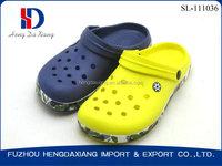Men Women plastic garden clog shoes