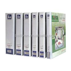 2015 High Quality A4 PVC Cover whitecardboard file folder