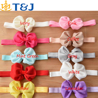 ss>>2015 fashion baby hair bands lovely headbands multicolor kids bowknot hairbands/