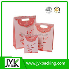 New products 2015 popular packing bag for gift, Paper bag gift Fancy gift paper bag Birthday boxes with paper GB1505054