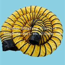 Flexible Ducting Hose for HVAC and heating or cooling ventilation system