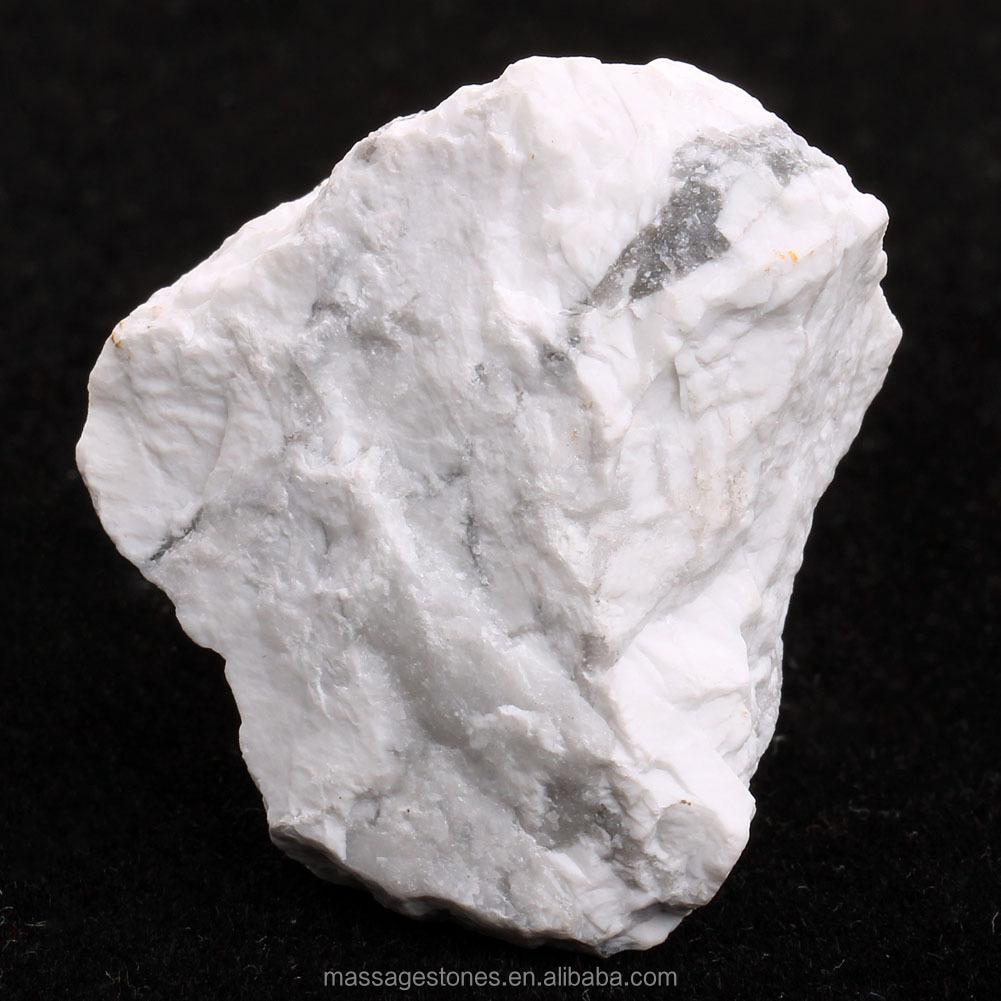 Pierre brute pierre minérale naturelle blanc howlite ...