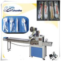 Shenhu automatic packing machine for plastic Spoon / Knife / Fork