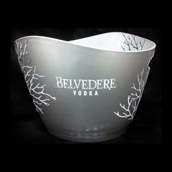 belvedere vodka acrylic ice bucket cooler LD-B219