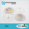 eas high quality transparent round ink security tags
