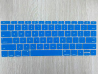 "US/ASIA VERSION for The Latest Apple Retina 12"" silicone ultra light colored laptop keyboard skin"