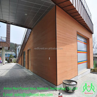 Factory supplier best price anti-crack exterior WPC plastic wood wall cladding/facade/panel