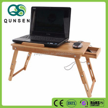 promotional ready made height adjustable computer desk with fan