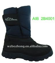 High quality boys' snow boots with waterproof material
