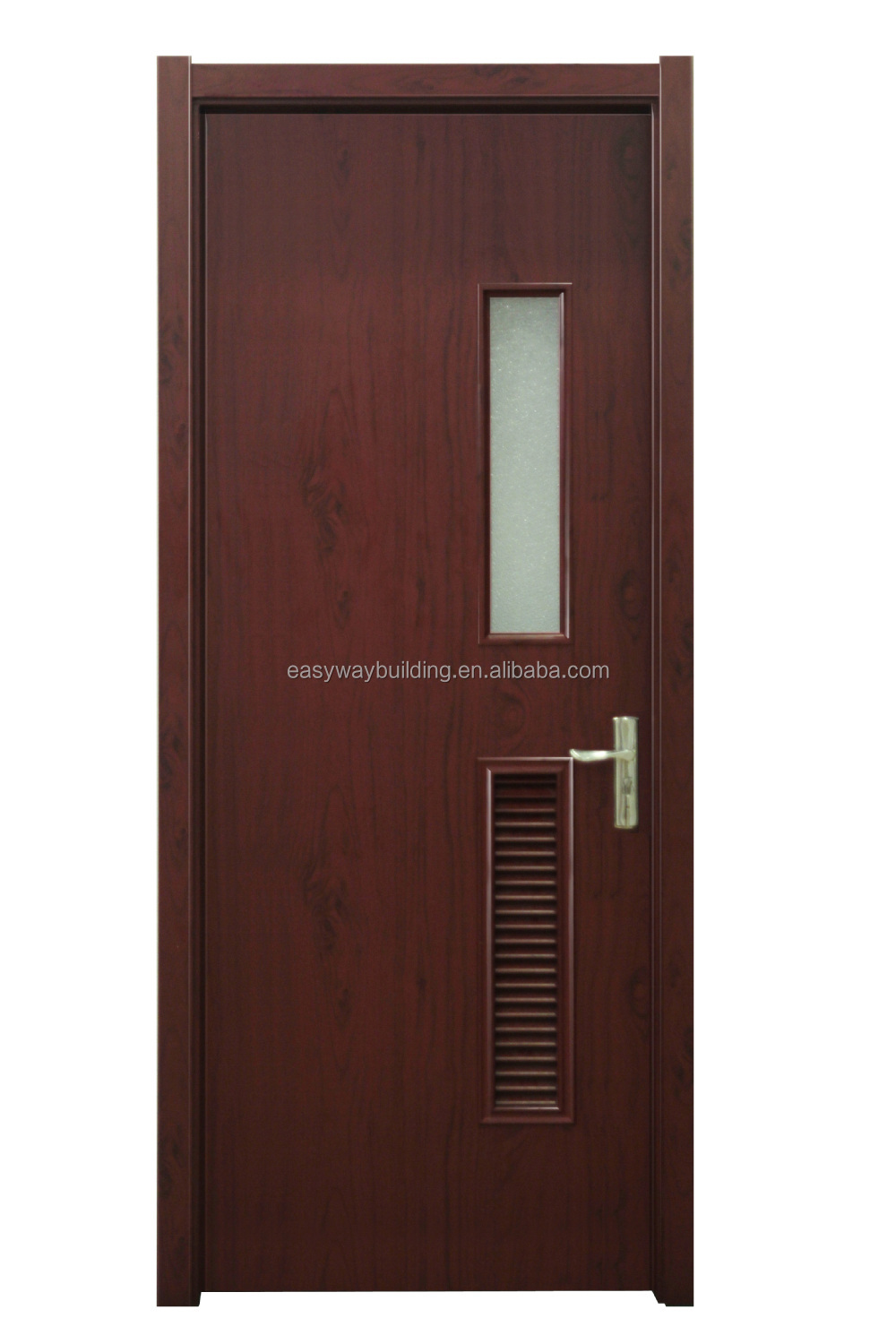 Laminated Flush Louver Doors Frosted Glass Bathroom Door Buy