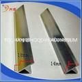 Cantoneiras de alumínio straight edge proteção telha t- slot de perfis de alumínio