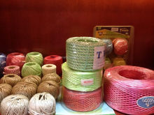 pp cable filler yarn/polyester sewing thread/packing rope/braided cotton cord for packaging