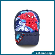 new style children baseball cap with printing and embroidery