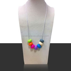 Good quality most popular silicone pendant necklace