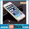 Manufacturer for iPhone 6 aluminum case champagne gold bumper case 4.7 inch factory price