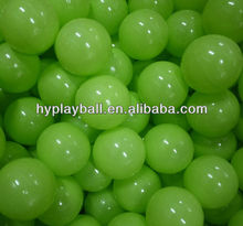 green soft play ball for ball pit