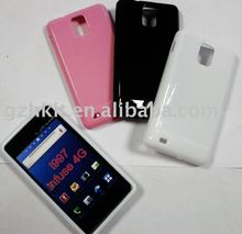 TPU Skin Soft Gel case for Samsung I997 Infuse 4G High Gloss uv style silicone case