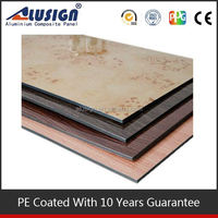 Alusign 4mm pvdf exterior wall cladding for construction building