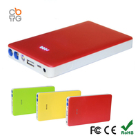 8000mAh 12v portable battery jump starter car emergency kit