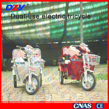 Passengers and cargo adult motor tricycle