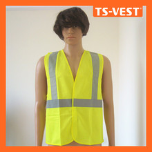 Pass EN471 Luminous Safety Vest with Hi Vis in Yellow