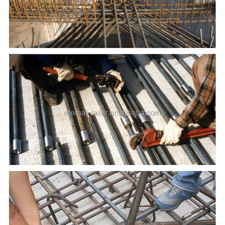 Roscado barras de refuerzo de la manga / barras de refuerzo de acero conexión acoplamiento / barras de refuerzo de conexión de manga